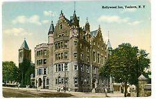 Yonkers NY - HOLLYWOOD INN HOTEL - Postcard