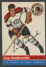 1954 Topps Hockey Card - #28 Lou Jankowski, EX