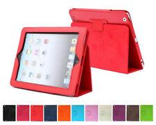 2 FOLD Folio Case iPad 432 Air PRO 12.9 Mini 5th 6th Gen SILVER C.GOLD ROSE GOLD