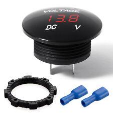 1PC Red LED Car Auto DC12-24V Panel Digital Voltage Volt Meter Display Voltmeter