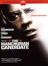 The Manchurian Candidate (DVD 2004 Widescreen) Denzel Washington - Meryl Streep