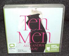 Bolinda Audio: 1 x CD Audio Disc:  Ten Men  by  Alexandra Gray.