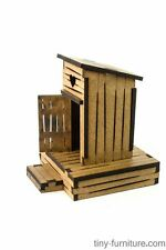 Outhouse -  Warhammer, FB, Frostgrave, Mordheim, laser cut, scenery