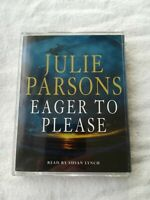Julie Parsons-Eager To Please cassette audiobook 3 hours 2 tapes abridged read b