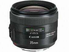 CANON EF35mm F2 IS USM Lens Japan Ver. New  / FREE-SHIPPING