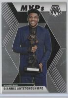 2019-20 Mosaic Giannis Antetokounmpo Base MVPs Card No. 297