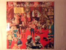 "BAND AID Do they know it's Christmas? 12"" GERMANY U2 GENESIS BEATLES DAVID BOWIE"