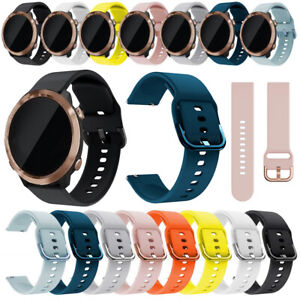 Silicone Loop Fitness Band Strap Quick Fit For Samsung Galaxy Watch Active2 44mm