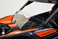 Can Am Maverick X3 Half Windshield Polycarbonate Clear Quick Straps UTVZILLA