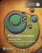 NEW 3 Days US Microeconomics 9E Robert S Pindyck Rubinfeld 9th Paperback Edition