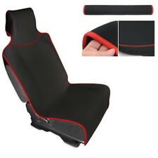 Black Car Seat Cover and Protector Waterproof Protection 1PCS For Cars Truck