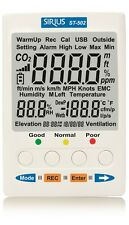 CO2/Temperature/RH Monitor*Desktop Indoor Air Quality(IAQ)Monitor For Build.HVAC