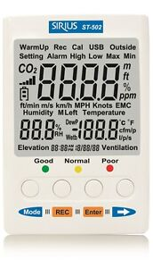 CO2/Temp/Humidity Monitor Application *Building HVAC*Indoor Air Quality Survey