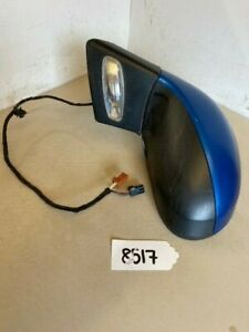 Peugeot 207 07 Electric Passenger Wing Mirror BLUE KMFD Genuine Part