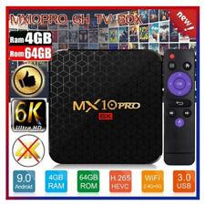 MX10 PRO Android 9.0 4K TV Box 4GB 32GB USB 3.0 WiFi BT4.1 HD RK3328 Quad Core