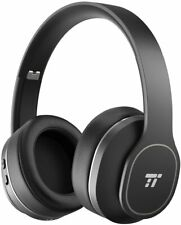 TaoTronics Active Noise Cancelling Bluetooth Headphones, Durable Over Ear