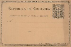 Colombia vintage card. unused