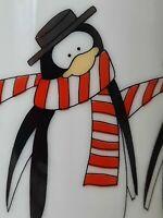 Dapper Penguins 1984 Mugs Ron Gordon Designs Japan EUC Coffee Tea  Cocoa UNIQUE
