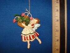Fairy Ornament With Strawberry Basket 487457 118