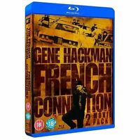 The French Connection and French Connection II [Blu-ray] [1971] [DVD][Region 2]