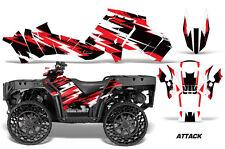 Polaris Sportsman WV850 ATV Graphic Kit Wrap Quad Accessories WV Decals ATTACK R