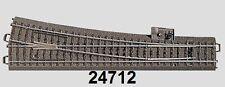 Märklin H0 24712 C-Gleis schlanke Weiche rechts NEU + OVP