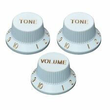 Volume x Tone Knob Set for Stratocaster Electric Guitars, 6mm
