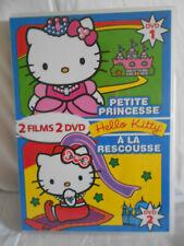 DVD HELLO KITTY LA PETITE PRINCESSE - A LA RESCOUSSE - 2 DVD - 2 FILMS
