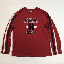 Vintage Tommy Hilfiger Long Sleeve Shirt Men's Large Tommy Jeans Sport VTG 90s