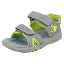 Calzado de niño sandalias de piel color principal gris