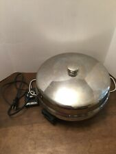 """Farberware Buffet Server Electric Skillet Immersible Fry/Dome Pan 12"""" Model 344A"""