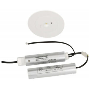 Seneca LED Emergency Recessed Downlight 2W Non-Maintained NSC2/LED/REC/NM3
