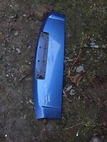 RANGE ROVER L322 P38 608 Blue Tailgate Spoiler