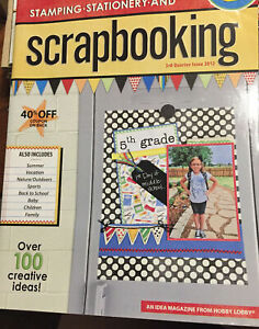 Stamping Stationery & Scrapbooking 3rd Quarter Issue 2012 Over 100 Ideas BTS