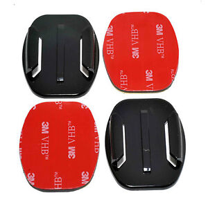 2x Flat Base 3M Adhesive Pad Mount Kit for GoPro HD Hero Camera 5 6 7 8 9