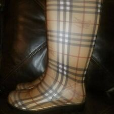BURBERRY Rain Boots- BRAND NEW Size 6.5