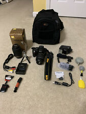 New ListingNikon D5200 Digital Camera with carry bag, Nikon Dx lens, and other accessories