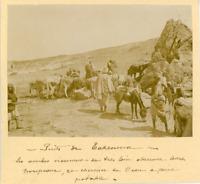 Tunisie, Takrouna (تكرونة), Puits de Takrouna  Vintage albumen print. Tirage a