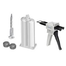50ml Empty 1:1 Ratio 2-Part Cartridge & Dispenser Full Kit