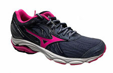 Mizuno Women's Wave Inspire 14 Running Athletic Shoes Gray Pink Black Size 6