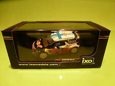 IXO 1:43 - CITROEN DS3 WRC - 2 RALLY MONTE CARLO 2012 RAM483 - IN  ORIGINAL  BOX