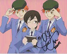 CAITLIN GLASS Ouran High School Host Club Haruhi Anime Voice SIGNED 8X10 Photo