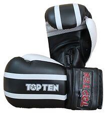 """BOX -/allenamento guanto top ten """"STRIPE"""". Guantoni da boxe. Sparring gloves pugilato."""