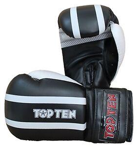 "Box-/Sparringhandschuh TOP TEN ""Stripe"". Boxhandschuhe. Sparring gloves. Boxen"