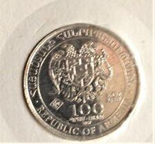 100 Dram 1/4 OZ P.P. 999/1000 Silber 2017 Jerewan Republik Armenien