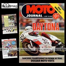MOTO JOURNAL N°307 DAYTONA CHRISTIAN SARRON TAKAZUMI KATAYAMA HONDA CB 125 1977
