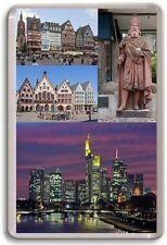 Frankfurt Germany Fridge Magnet 01