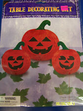 Pumpkin Jack O Lantern Halloween Carnival Party Centerpiece Table Decorating Kit
