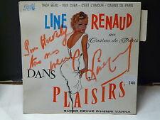 LINE RENAUD au Casino de Paris : Trop beau ... EG 497 Dédicacé devant