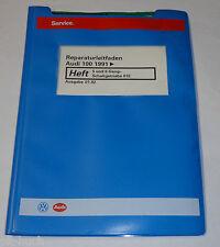Workshop Manual Audi 100 C 4 Transmission / 5+ 6 Gang Getriebe 01e ab 1991